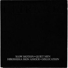"Ultravox - Slow Motion, 7"" vinyl, doublepack, c.1981, new wave, synth. John Foxx #vinyl #ultravox #newwave #synthpop"