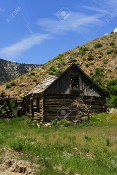 An old Homestead in ruins in Nine Mile Canyon, Utah