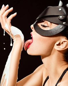 Your place to buy and sell all things handmade Milk Art, Cat Mask, Leather Mask, Boudoir Poses, Animal Masks, Dark Photography, Artificial Leather, Sexy Hot Girls, Natural Leather