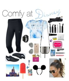 """""""Disney/ theme park outfit + must haves"""" by bella-easton on Polyvore"""
