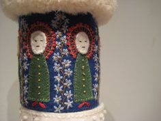 Embroidered Swedish cuff