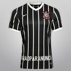 Camisa Nike Corinthians II 13/14 nº 27 - #naoparanunca