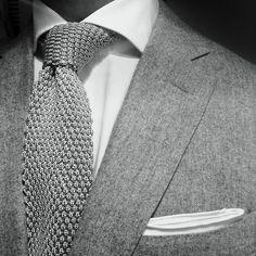 Trending Knitted tie.