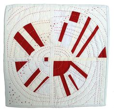 """FAN-tasy"" Beth Shibley. Alliance for American Quilts."