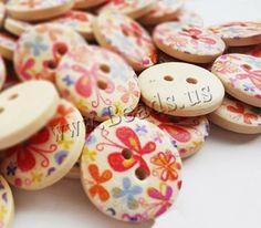 Botón de madera/wood button http://www.beads.us/es/producto/Boton-de-madera_p116992.html