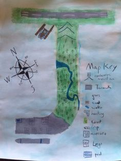 Autobiography maps is a creative project that incorporates geography, map skills, and art.