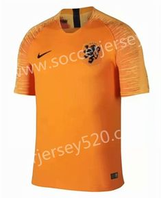 785b8ab14 2018-19 Netherlands Home Orange Thailand Soccer Jersey AAA