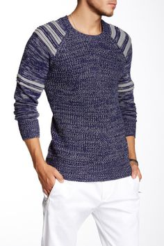 Yoki Crew Neck Knit Sweater