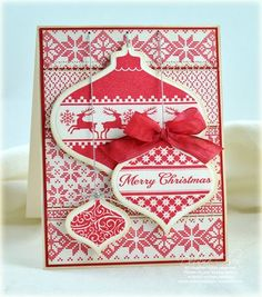 My next purchase from Waltzing Mouse Stamps! Never too early to start on those Christmas cards