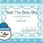 The gentle, flowing melody of Hear The Snow Sing will captivate the hearts of your students and will work well in your general music class, choir, ...