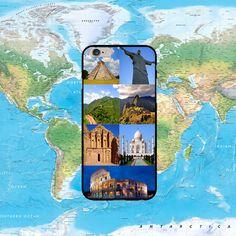 Seven modern wonders of the world. #travel #phonecase #wanderlust