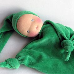 Waldorf blanket doll Waldorf Toy soft doll by germandolls on Etsy