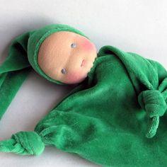 Waldorf blanket doll Waldorf Toy soft doll by germandolls on Etsy