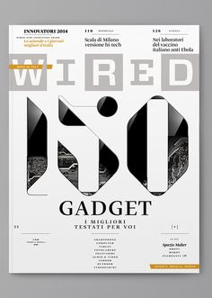 Wired (Italy) — Cover on Behance
