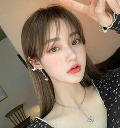 Korean Natural Makeup, Korean Makeup Look, Asian Makeup, Korea Makeup, Pretty Korean Girls, Korean Beauty Girls, Cute Korean Girl, Asian Beauty, Pelo Ulzzang