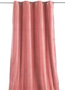 rideaux rose poudre rideau occultant