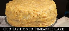 Old Fashioned Pineapple Cake - favorite recipes - Best Cake Recipes Best Cake Recipes, Dessert Recipes, Favorite Recipes, Desserts, Old Fashioned Pineapple Cake Recipe, Pineapple Pudding, Pineapple Recipes, Cream Cheese Brownies, Basic Cake