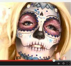 Inspiración para tu maquillaje de catrina.