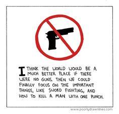 The best reason to be anti-gun...