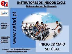 SETÚBAL: Instrutores de Indoor Cycle  » Início: 28 de Maio