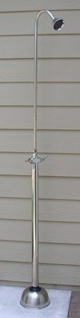 Outdoor Shower Company Free Standing Shower, HC-400