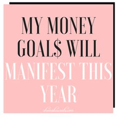 Money Affirmations FREE Printables from top personal finance blog, She Makes Cents #FinanceBoard