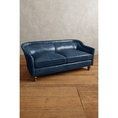 Anthropologie Premium Leather Holloway Settee ($3,498) ❤ liked on Polyvore featuring home, furniture, sofas, navy, anthropologie, dark blue couch, navy blue furniture, navy leather couch and leather couch Dark Blue Couch, Blue Couches, Pallet Planter Box, Planter Boxes, Sectional Sofa, Sofas, Navy Blue Furniture, Settees, Love Seat