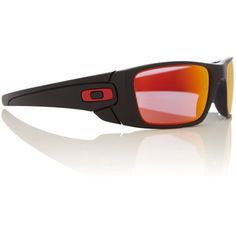 Oakley Men`s Ruby Iridium Rectangular Sunglasses ( 180) ❤ liked on Polyvore  featuring ac3f54cf1d