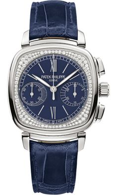 7071G-011 Patek Philippe Complications Womens 18K White Gold Watch | WatchesOnNet.com