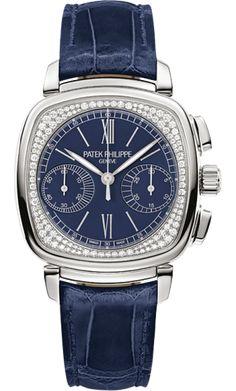 7071G-011 Patek Philippe Complications Womens 18K White Gold Watch | WatchesOnNet.com