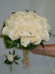 Свадебные букеты в Харькове. Букет невесты на любой вкус из самых свежих цветов. Эксклюзивные свадебные букеты   FlowerShop