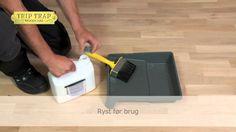 Sådan anvender du Trip Trap Basislud..... til ludbehandling af trægulve, møbler, bordplader m.m. i lyse træsorter.