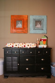 I would love to find a dresser to refurbish and use it as a changing table