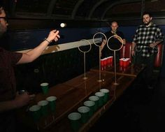 Quidditch Pong is the somewhat perfect combination of beer pong and quidditch, guaranteed to add some ~magic~ to your drunken nights.
