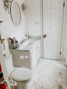 Romantic Farmhouse Bathroom Decor Ideas, Every half bathroom wants a cabinet. Our kitchen truly is the core of our dwelling. The bathroom is an ideal place to begin if you wish to bring a sma. Bathroom Decor Sets, Bathroom Layout, Bathroom Ideas, Bathroom Designs, Large Bathrooms, Small Bathroom, Master Bathroom, Diy House Projects, Interior Decorating