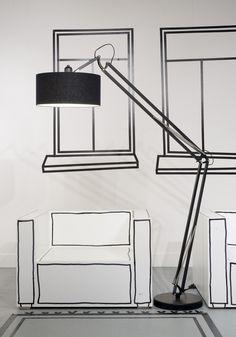 Vloerlamp Milano - Zwart - It's About RoMi