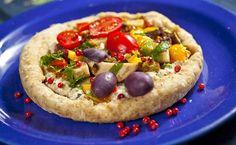 Cura pela Natureza.com.br: Pizza sem trigo, sem leite e com biomassa de banana verde