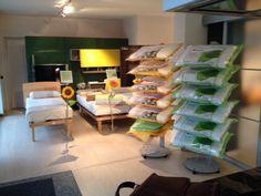 La giornata dedicata al buon riposo organizzata nel punto vendita Favaro Arreda a Sesona di Vergiate (VA) in collaborazione con Dorsal