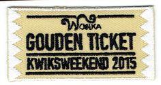 Wonka Gouden ticket Kwiksweekend 2015