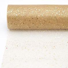 Bordløper+med+glitter+gull+30cm+x+5m.+Lekkert+til+festbordet+med+en+hvit+duk+under.+Klipp+den+lengden+du+har+behov+for.+Ønsker+du+å+bestille+10m+skriver+du+antall+2+osv.