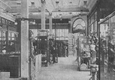Interior de la  Casa Welsch 1910-09-10
