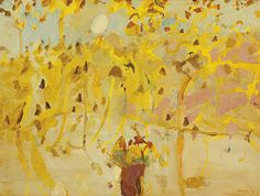 JOHN OLSEN born 1928  Untitled 1969 oil on board 91.0 x 121.0 cm signed and dated lower right: John Olsen '69