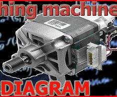 Wiring diagram of washing machine motor Manual Washing Machine, Washing Machine Motor, Universal Motor, Kenmore Washer, Pvc Pipe Projects, Electrical Wiring Diagram, Electrical Installation, Body Hacks, Electric Motor