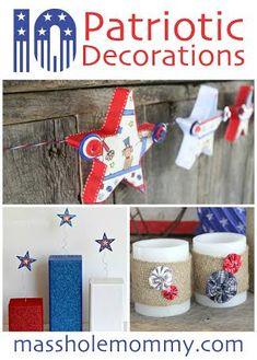 10 Patriotic Decorations