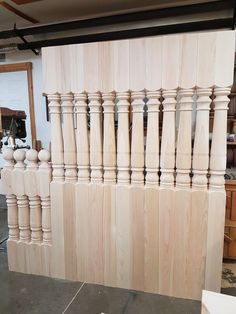 They are made with our Victorian pattern. Victorian Pattern, Porch Posts, Newel Posts, Chandelier, Ceiling Lights, Home Decor, Candelabra, Decoration Home, Room Decor