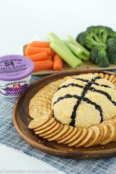 French Onion Basketball Cheeseball - Handmade in the Heartland
