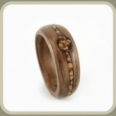 Wooden Engagement Rings