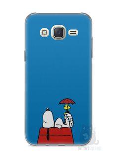 Capa Capinha Samsung J7 Snoopy #9 - SmartCases - Acessórios para celulares e tablets :)