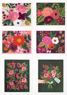 Vintage Blossoms Cards | Rifle Paper Co.