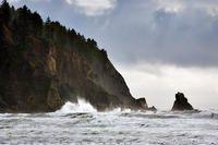 Oregon Coast.  By: Walter Loveless